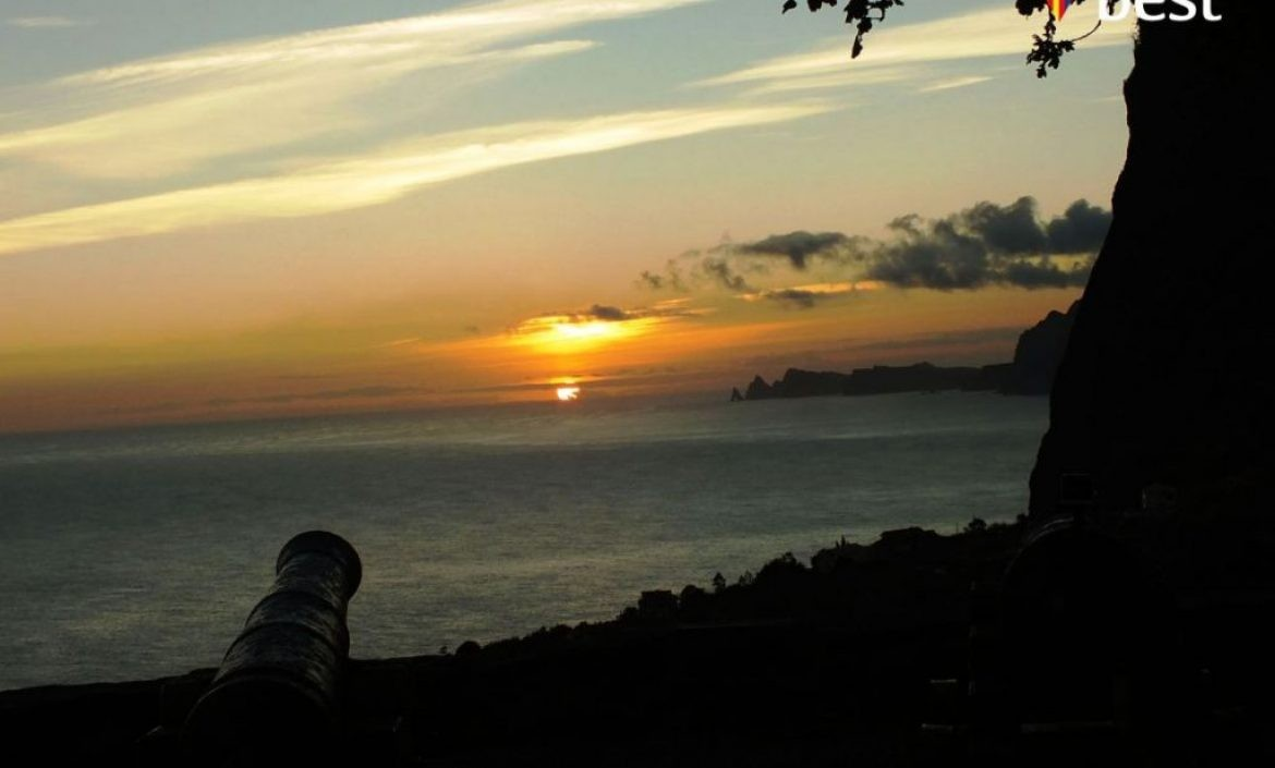Sunrise Video Lapse in Faial Fort Viewpoint