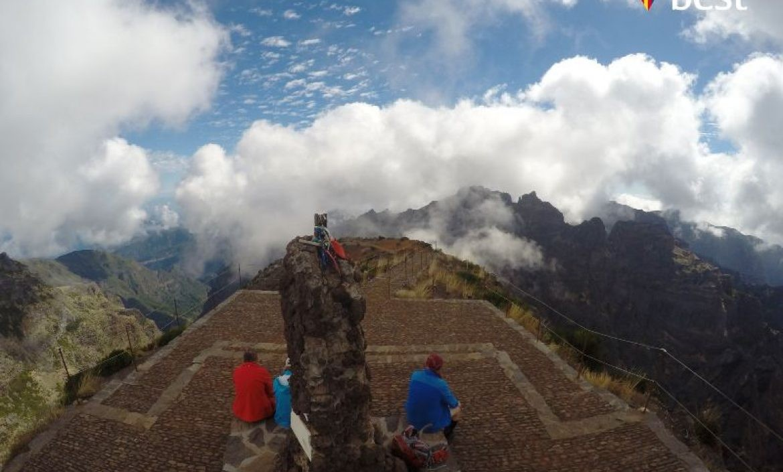 Pico Ruivo Madeira Island Timelapse