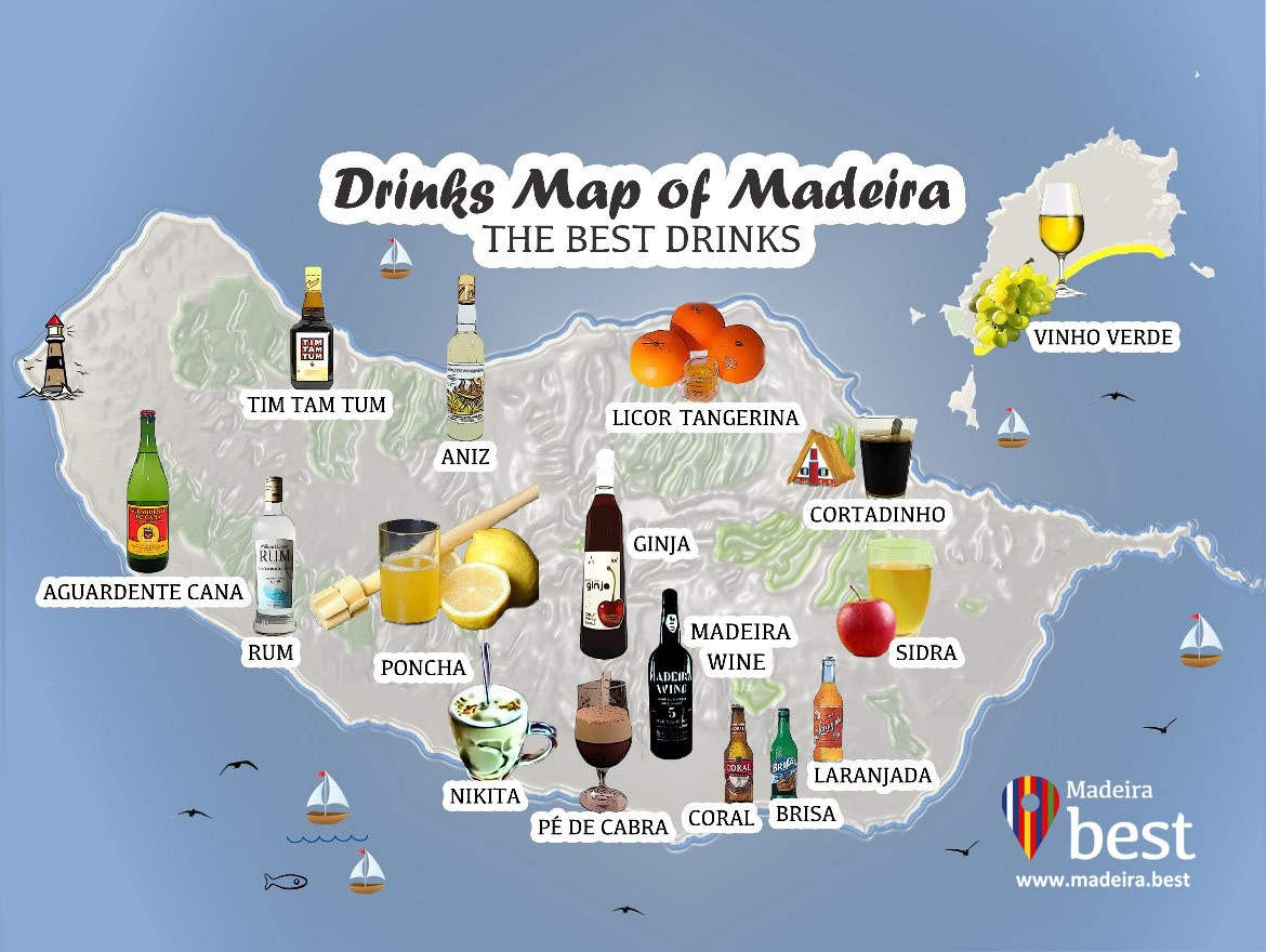 15 Drinks You Must Try in Madeira Island