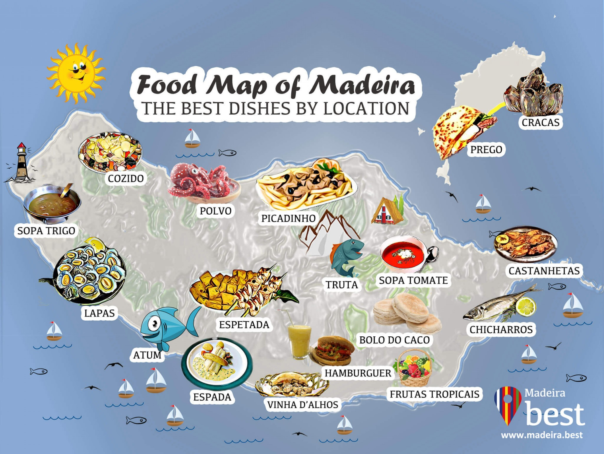 18 Dishes You Absolutely Must Try During Your Vacation in Madeira Island