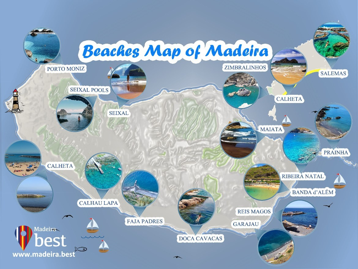 Best Beaches & Natural Swimming Pools in Madeira Island 2