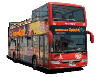 City Gold Red Bus Autocarro Turístico Funchal Tour