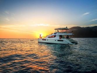 Luxury Catamaran Sunset Cruise with Champagne Madeira