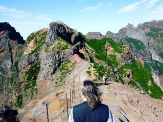 Pico Areeiro to Pico Ruivo Walk, Madeira