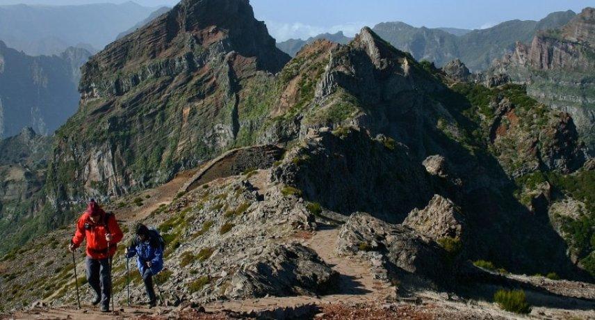 1. Пешие прогулки и треккинг на острове Мадейра.
