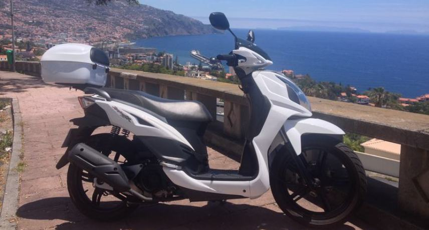 11. Rent a Scooter in Madeira Island