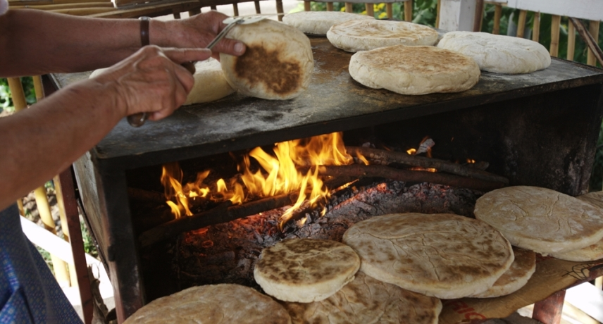 Bolo do Caco - 17 Dishes You Absolutely Must Try During Your Vacation in Madeira Island