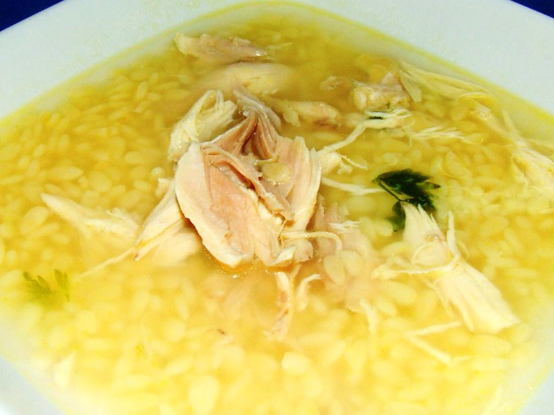 "Madeira Chicken Soup ""Canja"""