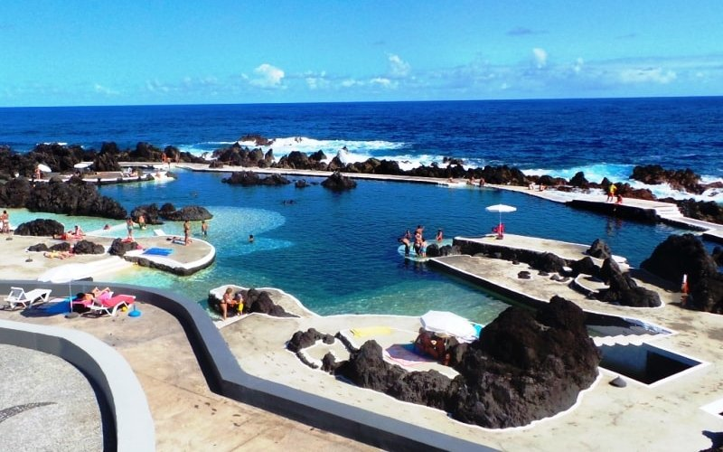 Porto Moniz natural Lava pools - - Visiting Madeira in April - An Easter Break