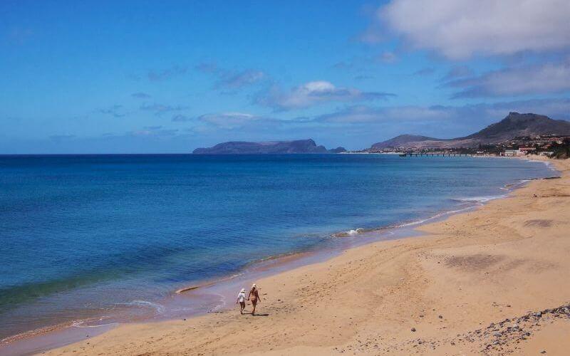 Пляж Порту-Санту - Посещение Мадейры в апреле - Пасхальные каникулы (11)