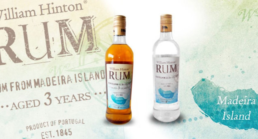 RUM William Hinton - 15 Drinks You Must Try in Madeira Island